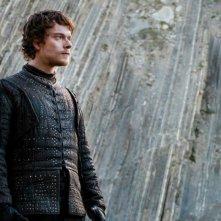 Il Trono di Spade: Theon in una foto di The Dragon and the Wolf