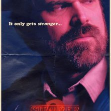 Stranger Things, il character poster di David Harbour