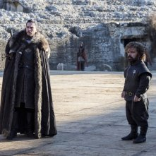 Il trono di spade: Jon Snow e Tyrion Lannister in The Dragon and the Wolf