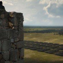 Il trono di spade: una scena dell'episodio The Dragon and the Wolf