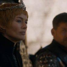 Il trono di spade: Cersei in una scena del finale della settima stagione