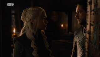 Il trono di spade: Dany e Jon in The Dragon and the Wolf