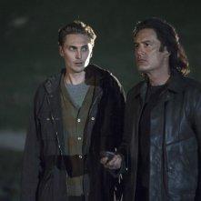 I segreti di Twin Peaks: Kyle MacLachlan ed Eamon Farren in una scena