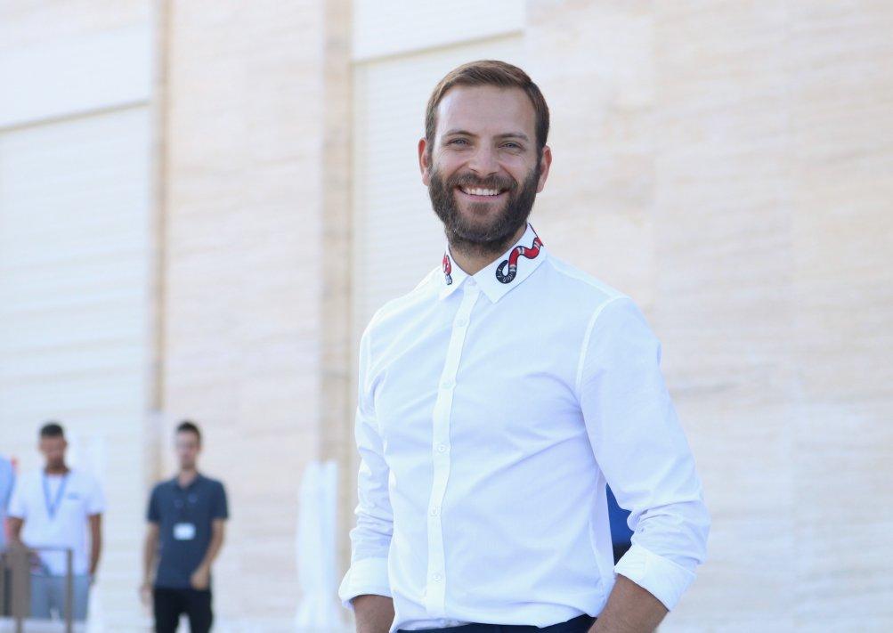 Venezia 2017: un sorridente Alessandro Borghi