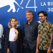 "Venezia 2017: La giuria del Premio Venezia Opera Prima ""Luigi De Laurentiis""al photocall"