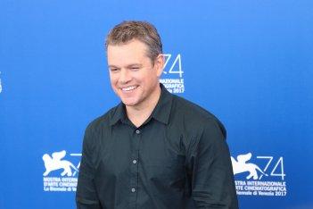 Venezia 2017: Matt Damon al photocall di Downsizing