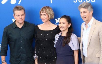 "Downsizing, Matt Damon e Kristen Wiig ""rimpiccioliscono"" per Alexander Payne a Venezia 74"
