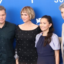 Venezia 2017: regista e cast al photocall di Downsizing