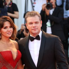 Venezia 2017: Matt Damon sul red carpet inaugurale