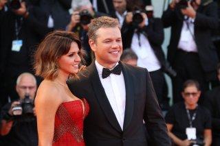 Venezia 2017: Matt Damon sorridente sul red carpet inaugurale