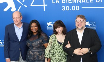 Venezia 2017: il cast al photocall di The Shape of Water