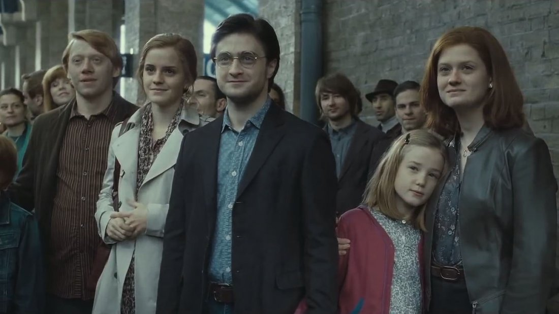 Harry Potter Deathly Hallows Epilogue Scene Still