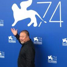 Venezia 2017: Ai Weiwei al photocall di Human Flow
