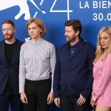 Venezia 2017: uno scatto del cast al photocall di Lean on Pete