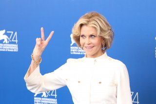 Venezia 2017: uno scatto di Jane Fonda al photocall di Our Souls at Night