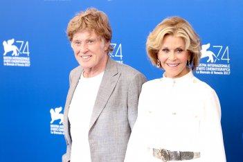 Venezia 2017: Jane Fonda e Robert Redford al photocall di Our Souls at Night