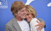 """Robert Redford e Jane Fonda a Venezia 74: """"L'amore romantico non cambia con l'età, ma il sesso migliora"""""""