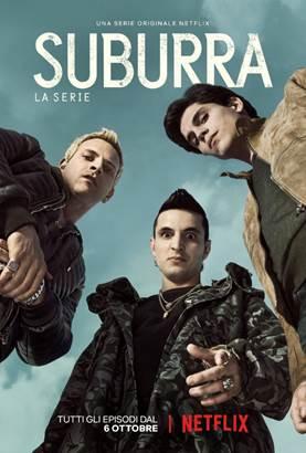 Suburra, il poster della serie