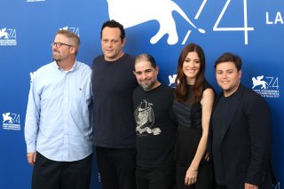 Venezia 2017: il cast di Brawl in Cell Block 99 al photocall