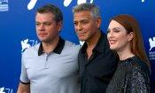 George Clooney e Julianne Moore: è delirio a Venezia per le star di Suburbicon (FOTO)
