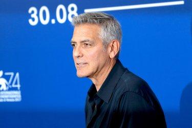 Venezia 2017: il regista George Clooney al photocall di Suburbicon