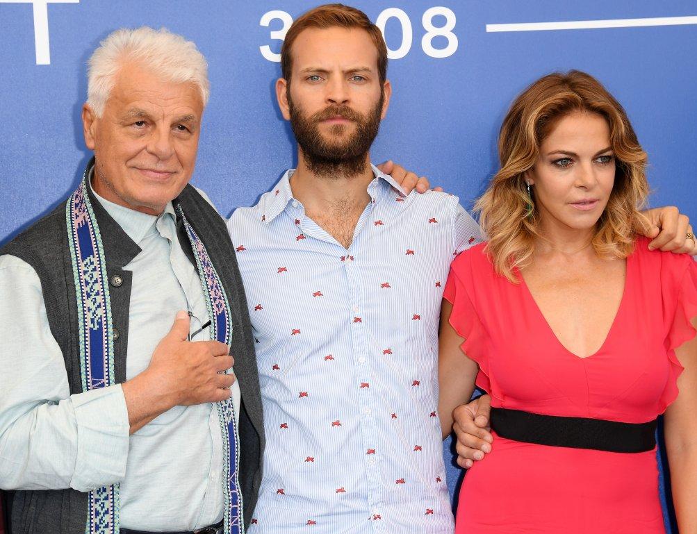 Suburra: Michele Placido a Venezia con Alessandro Borghi e Claudia Gerini