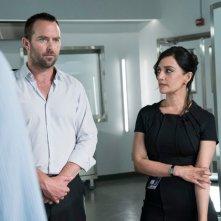 Blindspot: Sullivan Stapleton e Archie Panjabi in una foto della seconda stagione