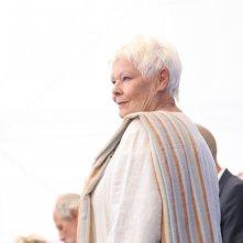 Venezia 2017: Judi Dench al photocall di Vittoria e Abdul