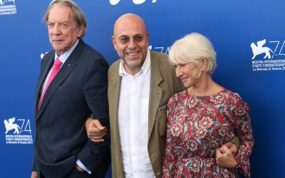 Helen Mirren e Donald Sutherland on the road con Virzì dalla Route 1 a Venezia