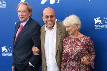 Venezia 2017: Donald Sutherland, paolo Virzì, Helen Mirren al photocall di Ella & John