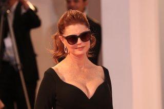 Venezia 2017: uno scatto di Susan Sarandon sul red carpet del premio Kinéo