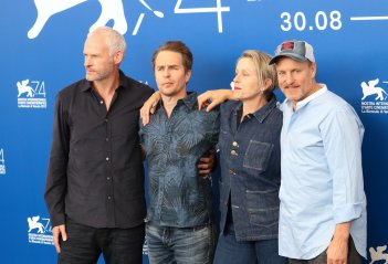 Venezia 2017: il cast al photocall di Three Billboards Outside Ebbing, Missouri