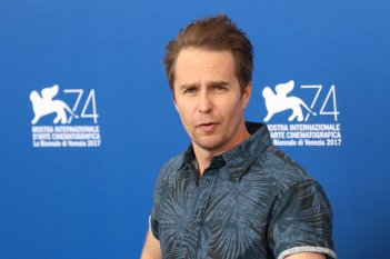 Venezia 2017: Sam Rockwell al photocall di Three Billboards Outside Ebbing, Missouri