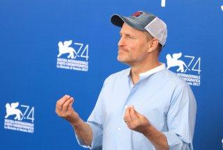 Venezia 2017: l'attore Woody Harrelson al photocall di Three Billboards Outside Ebbing, Missouri