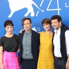 Venezia 2017: il cast al photocall di Una famiglia