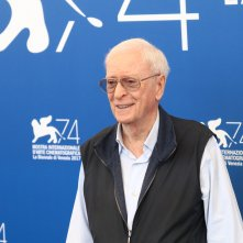 Venezia 2017: uno scatto di  Michael Caine al photocall di My Generation