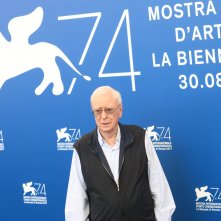 Venezia 2017: Michael Caine al photocall di My Generation