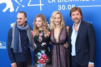 Venezia 2017: il cast al photocall di Madre!
