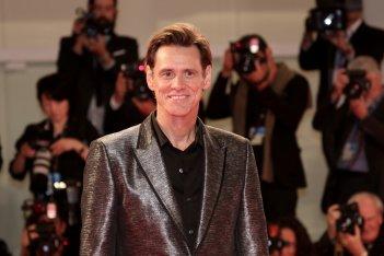 Venezia 2017: una foto di Jim Carrey sul red carpet di Jim & Andy: The Great Beyond.