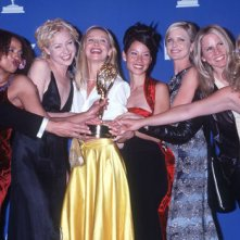 Ally McBeal: il cast a una premiazione