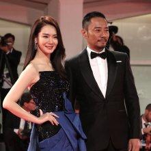 Venezia 2017: Ha Ji-won e Zhang Hanyu sul red carpet di Manhunt
