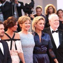 Venezia 2017: uno scatto della giuria sul red carpet della cerimonia di chiusura
