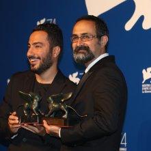 Venezia 2017: Vahid Jalilvand al photocall dei premiati