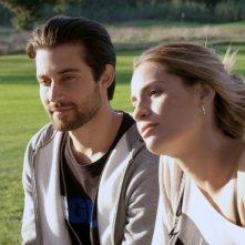 Tiro libero: Simone Riccioni e Maria Chiara Centorami in una scena del film