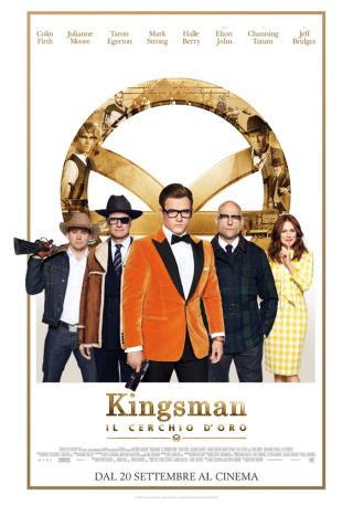 Locandina di Kingsman: Il cerchio d'oro