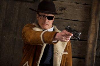 Kingsman: Il cerchio d'oro, Colin Firth in un momento del film