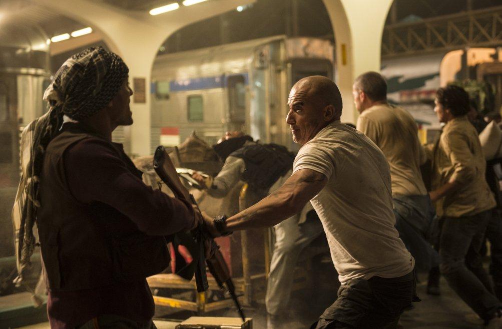 Prison Break: Dominic Purcell in una foto della serie sequel