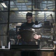 The Punisher: una foto del protagonista Jon Bernthal