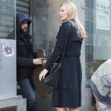 The Punisher: Jon Bernthal e Deborah Ann Woll in una foto della serie