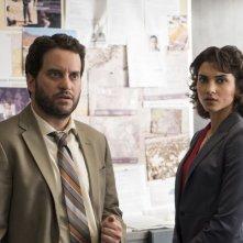 The Punisher: Michael Nathanson e Amber Rose Revah in una foto della serie